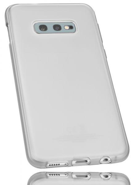 TPU Hülle weiß transparent für Samsung Galaxy S10e