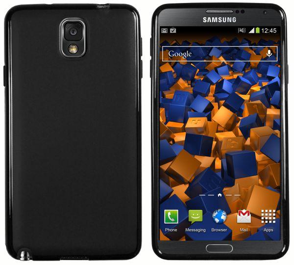 TPU Hülle schwarz für Samsung Galaxy Note 3