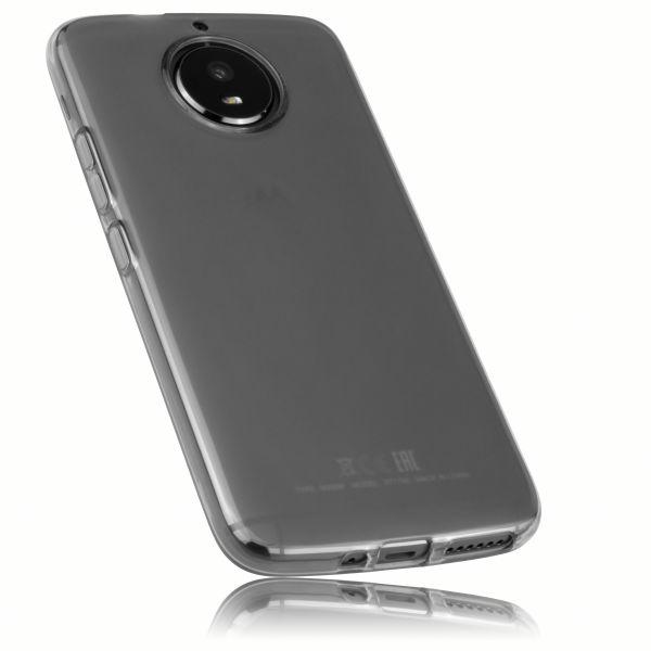 TPU Hülle schwarz transparent für Motorola Moto G5S
