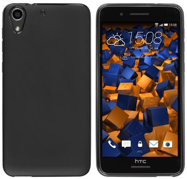 TPU Hülle schwarz für HTC Desire 728G