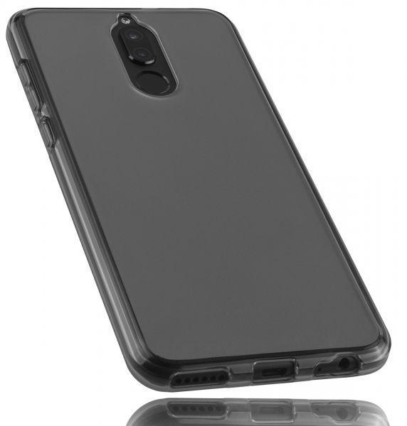 TPU Hülle schwarz transparent für Huawei Mate 10 Lite