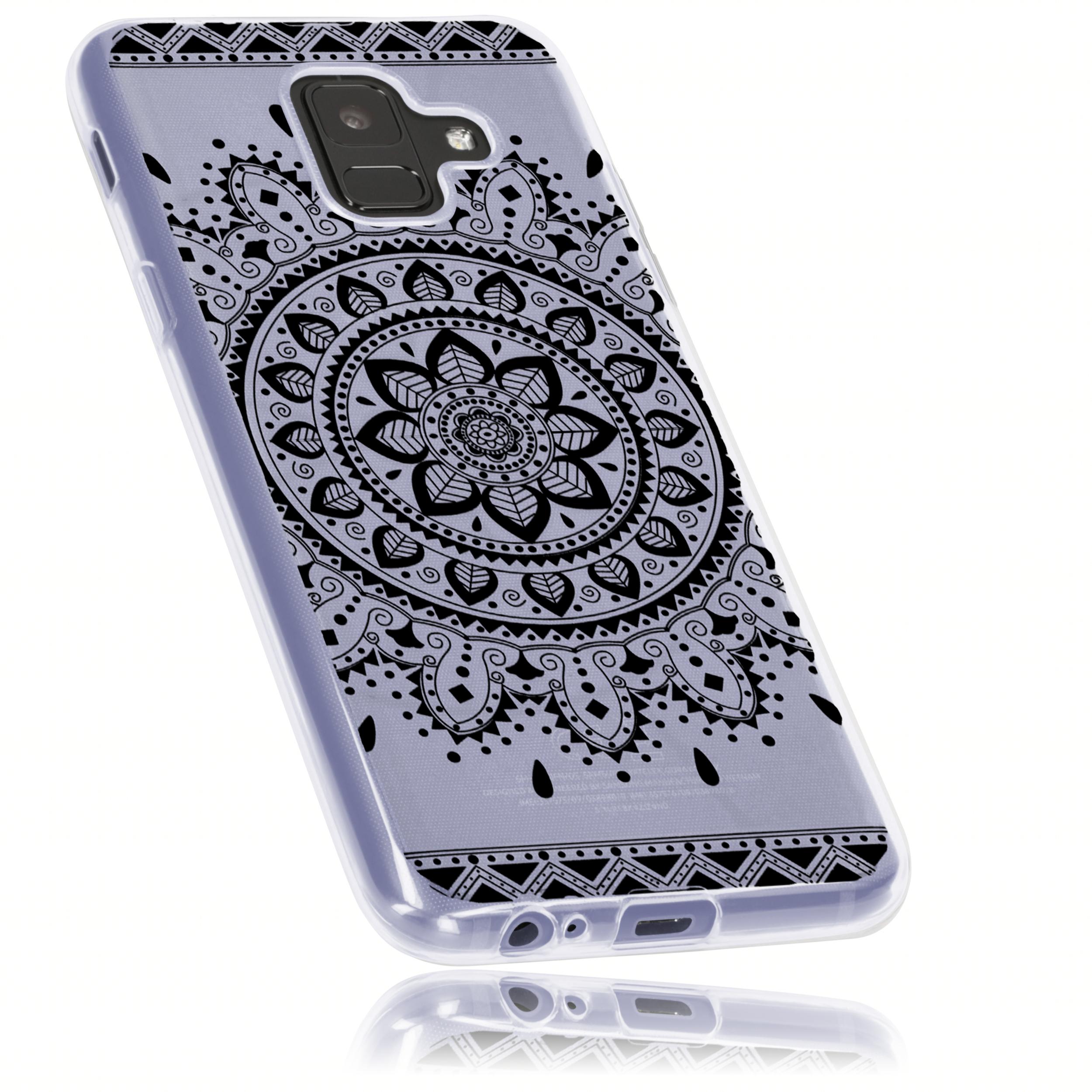 1 mumbi O1 Samsung Galaxy A6 TPU Case Mandala schwarz sw