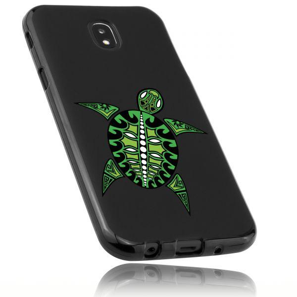 TPU Hülle schwarz Motiv Schildkröte für Samsung Galaxy J5 (2017)
