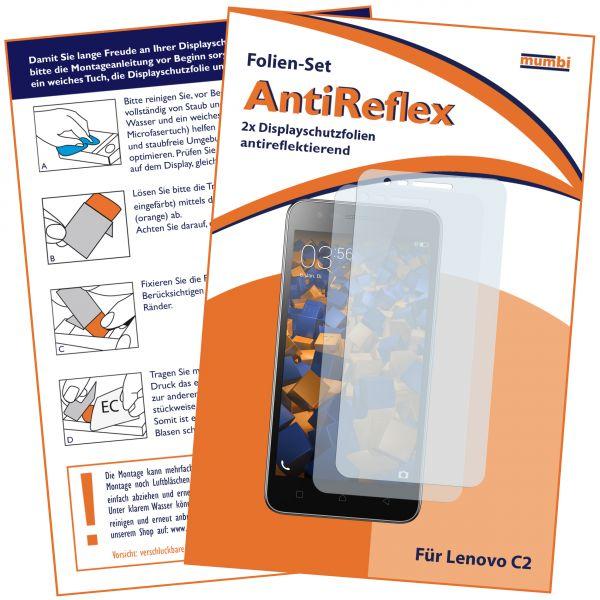 Displayschutzfolie 2 Stck. AntiReflex für Lenovo C2