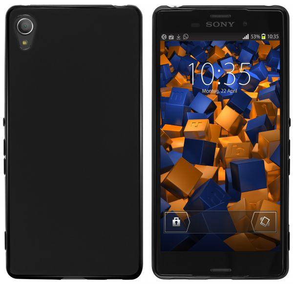TPU Hülle schwarz für Sony Xperia Z3 Plus
