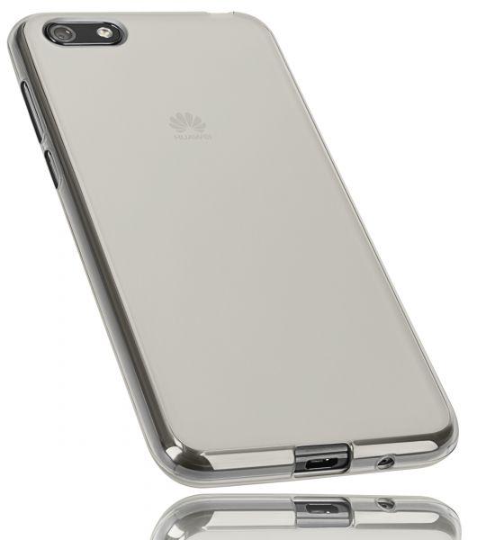 TPU Hülle weiß transparent für Huawei Y5 (2018)