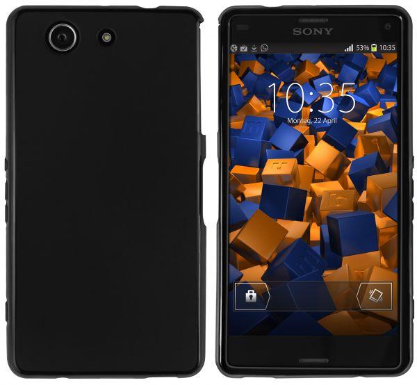 TPU Hülle schwarz für Sony Xperia Z3 Compact