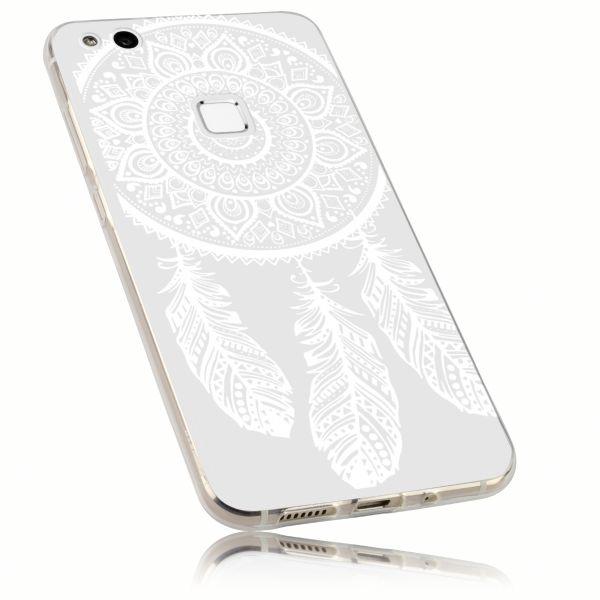 TPU Hülle Ultra Slim transparent Motiv Traumfänger für Huawei P10 Lite