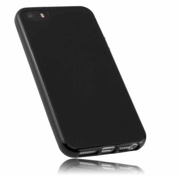 TPU Hülle schwarz für Apple iPhone SE (2016) / 5 / 5s