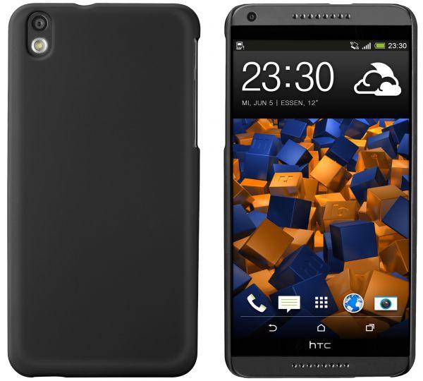 Hard Case Hülle schwarz für HTC Desire 816 / 816G