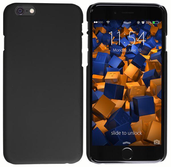 Hard Case Hülle schwarz für Apple iPhone 6 / 6s