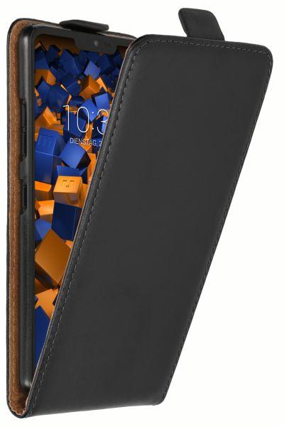 Flip Case Tasche schwarz für LG G7 ThinQ