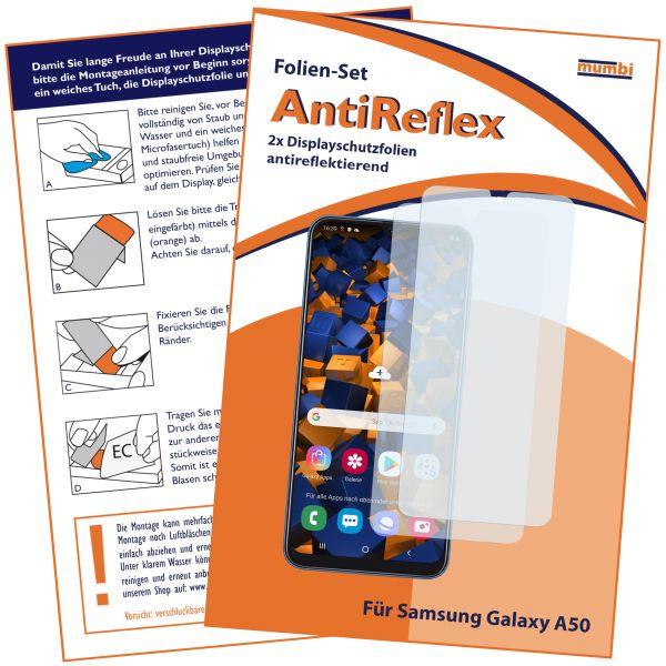 Displayschutzfolie 2 Stck. AntiReflex für Samsung Galaxy A50