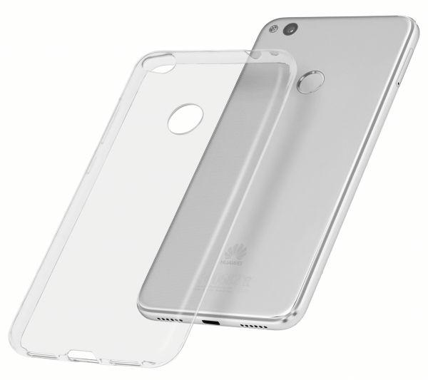 TPU Hülle Ultra Slim UV beständig transparent für Huawei P8 Lite (2017)