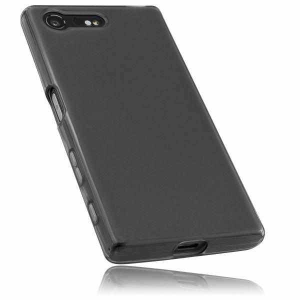 TPU Hülle schwarz transparent für Sony Xperia X Compact