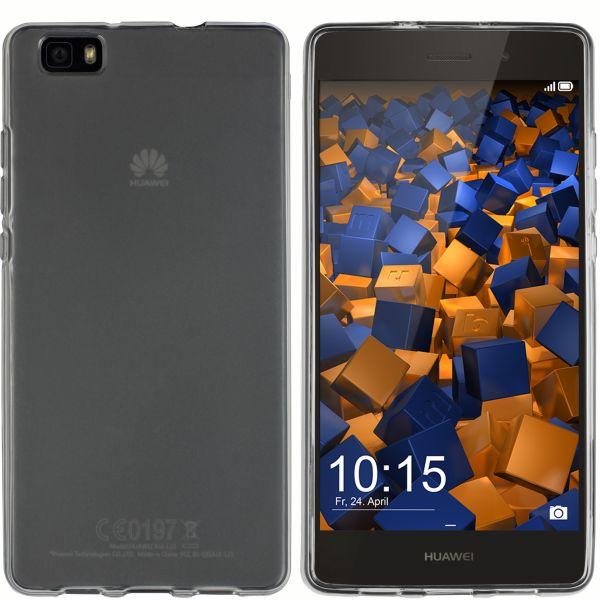 TPU Hülle schwarz transparent für Huawei P8 Lite (2015)