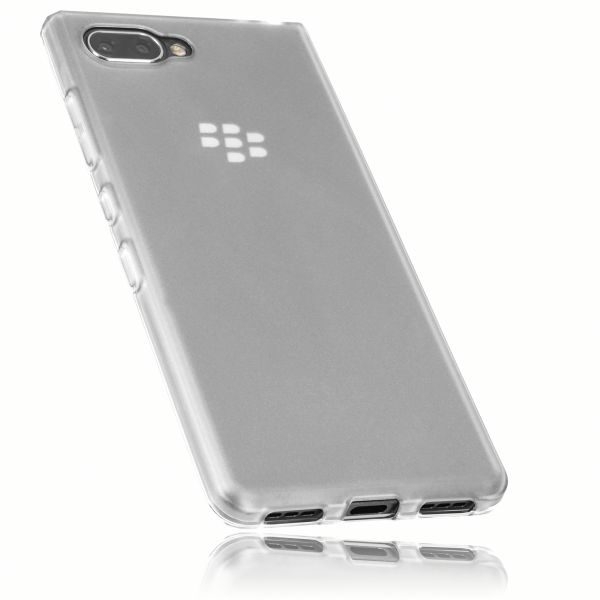 TPU Hülle weiß transparent für Blackberry KEY2 LE
