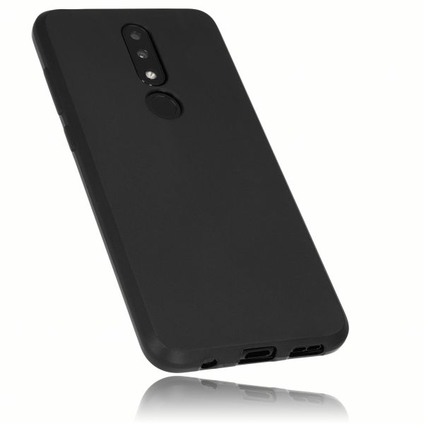 TPU Hülle schwarz für Nokia 5.1 Plus