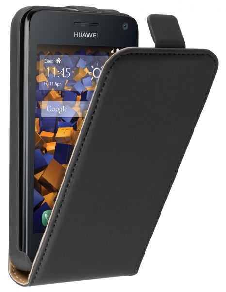 Flip Case Tasche schwarz für Huawei Y3