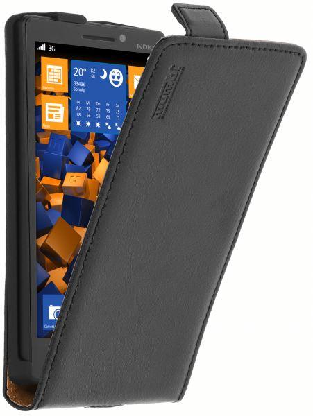 Flip Case Ledertasche für Nokia Lumia 930