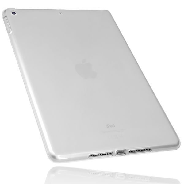 TPU Hülle transparent weiß für Apple iPad 2021, 2020 und iPad 2019 10.2 Zoll
