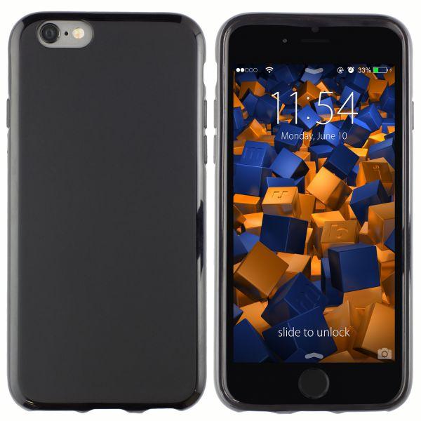 TPU Hülle schwarz für Apple iPhone 6 / 6s
