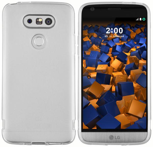 TPU Hülle weiß transparent für LG G5