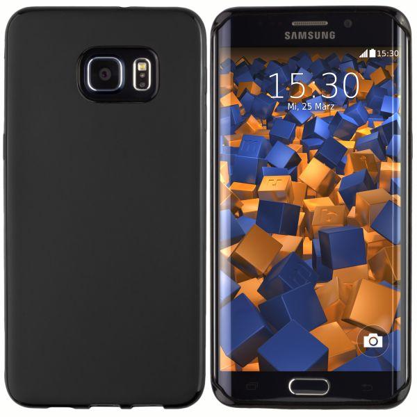 TPU Hülle schwarz für Samsung Galaxy S6 Edge Plus