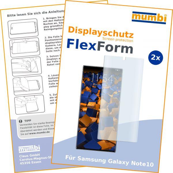 Displayschutzfolie 2 Stck. FlexForm für Samsung Galaxy Note10