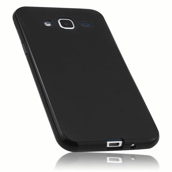 TPU Hülle schwarz für Samsung Galaxy J3 (2016)