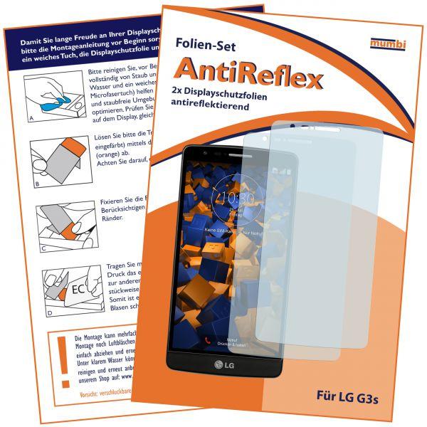 Displayschutzfolie 2 Stck. AntiReflex für LG G3s