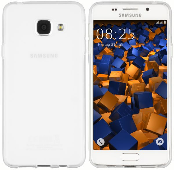 TPU Hülle weiß transparent für Samsung Galaxy A3 (2016)