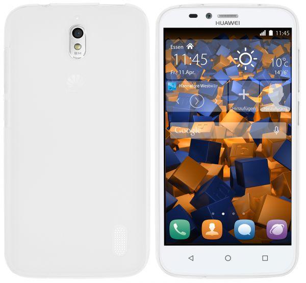 TPU Hülle weiß transparent für Huawei Y625