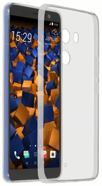 TPU Hülle Ultra Slim transparent für HTC U11 Plus