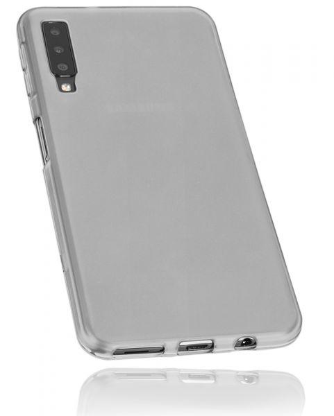 TPU Hülle weiß transparent für Samsung Galaxy A7 (2018)