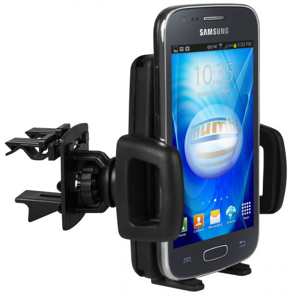 Lüftungsschlitz KFZ Halterung Vent Mount Kugelgelenk für Samsung Galaxy Ace 3