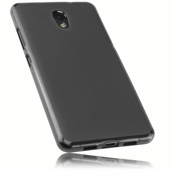 TPU Hülle schwarz transparent für Lenovo P2