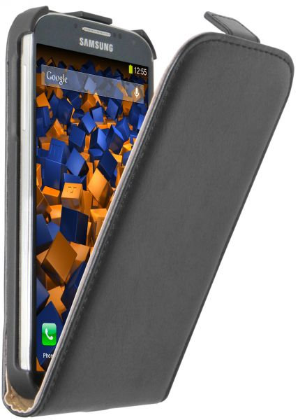 Flip Case Tasche schwarz für Samsung Galaxy S4