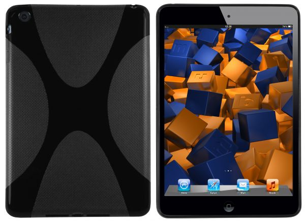 TPU Hülle X-Design schwarz für Apple iPad Mini 1