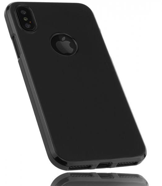 TPU Hülle schwarz für Apple iPhone XS / X