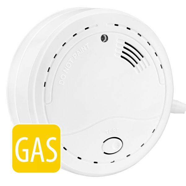Gasmelder GM100 - 3in1 Erdgas (Methangas) Flüssiggas (Propangas / Butangas) Melder