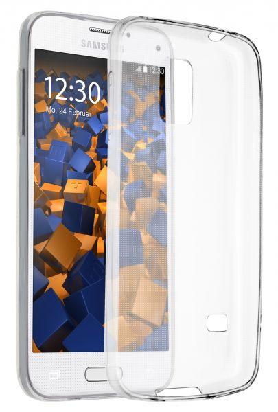 TPU Hülle Ultra Slim transparent für Samsung Galaxy S5 mini