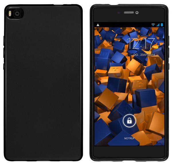 TPU Hülle schwarz für Huawei P8