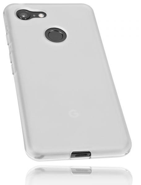 TPU Hülle weiß transparent für Google Pixel 3