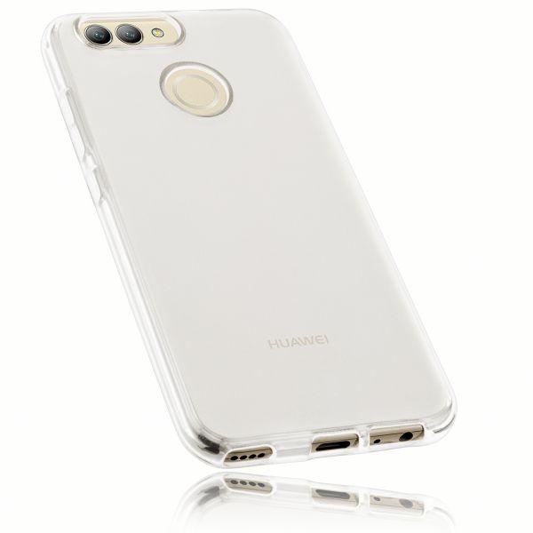 TPU Hülle weiß transparent für Huawei Nova 2