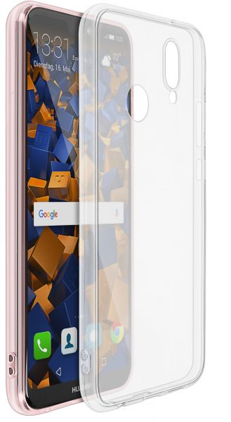 TPU Hülle Ultra Slim transparent für Huawei P20 Lite