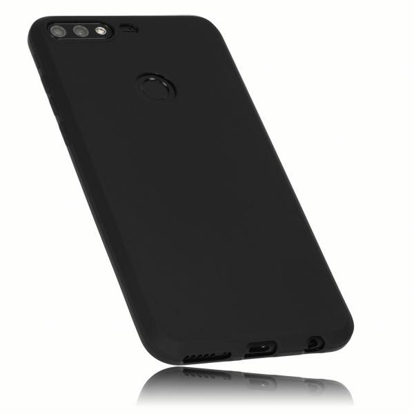 TPU Hülle schwarz für Huawei Honor 7C