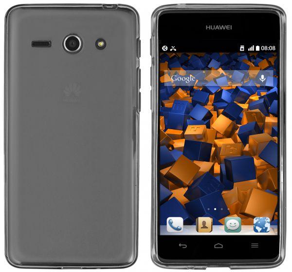 TPU Hülle transparent schwarz für Huawei Ascend Y530