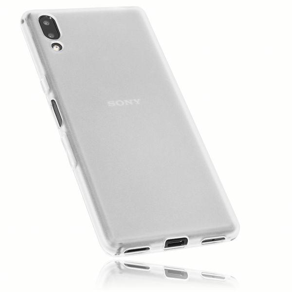 TPU Hülle weiß transparent für Sony Xperia L3