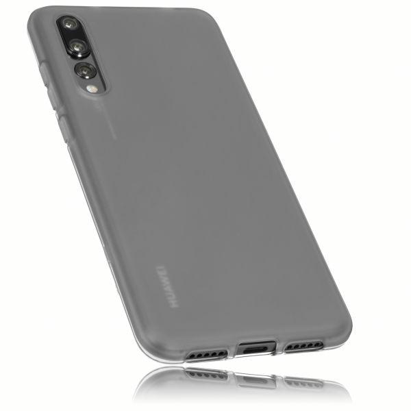TPU Hülle schwarz transparent für Huawei P20 Pro